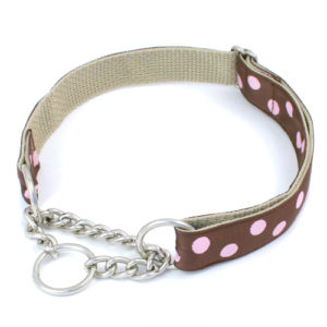 Rhinestone and Martingale dog collars
