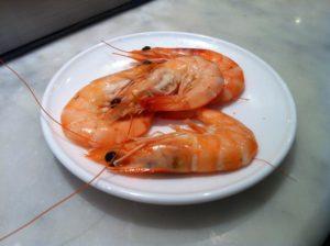 what eats shrimp